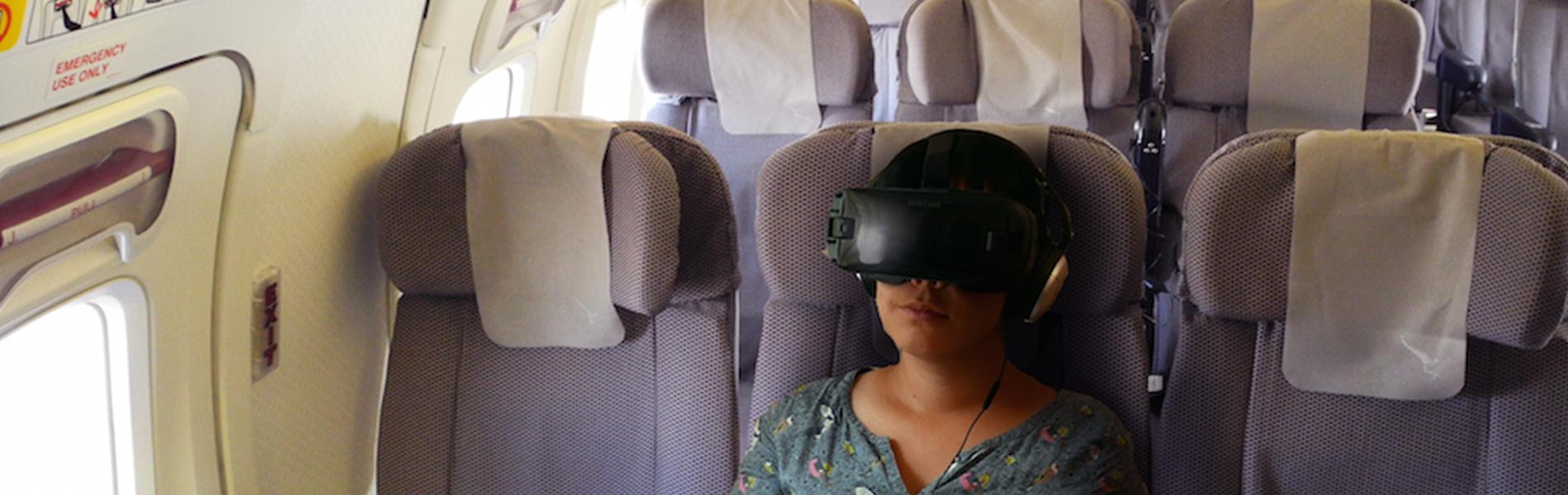 In-flight XR